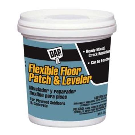 Liquid Floor Leveler by Dap 32 Oz Gray Floor Patch And Leveler 59184