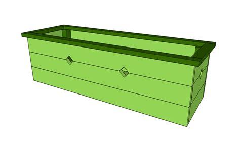 window flower box plans myoutdoorplans