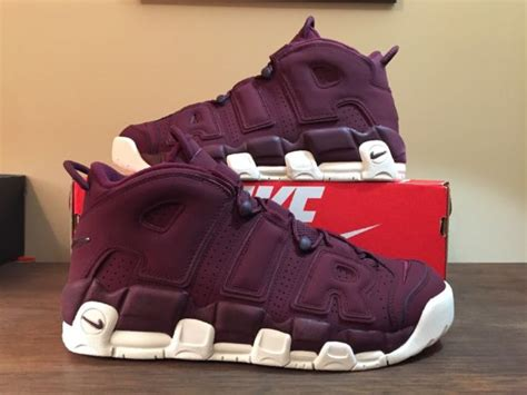 Nike Air More Uptempo 96 Qs Night Maroon Bordeaux 921949