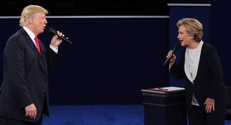 Speaking time near even in second presidential debate