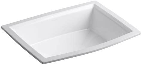 kohler memoirs undermount sink template kohler k 2355 0 white archer 17 5 8 quot undermount bathroom