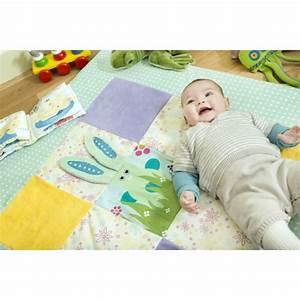 tapis d39eveil coton bio cilou cocarde verte With tapis ethnique avec canapé bio ecologique