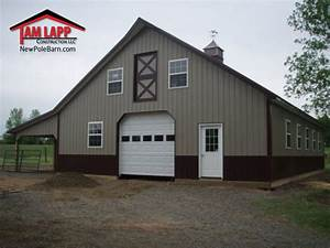 horse barn polebarn building gilbertsville tam lapp With 36 x 50 pole barn