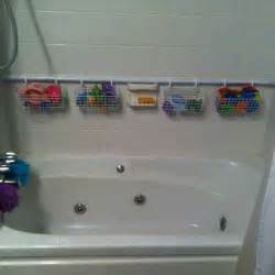 diy shower caddy for bath toys - Bathroom Caddy Ideas