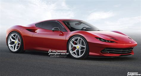 New Ferraris by S New Age Dino Looks Stunning In Renderings