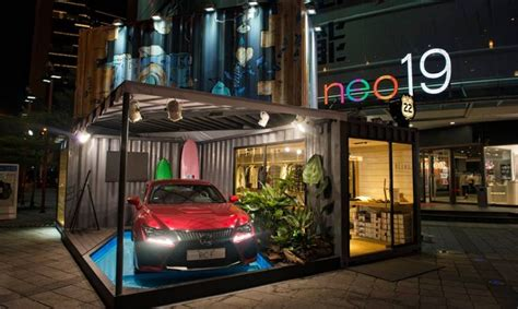 world  lexus pop  shop appears  taiwan lexus