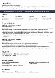 2018 professional resume templates as they should be 8 With easy professional resume template