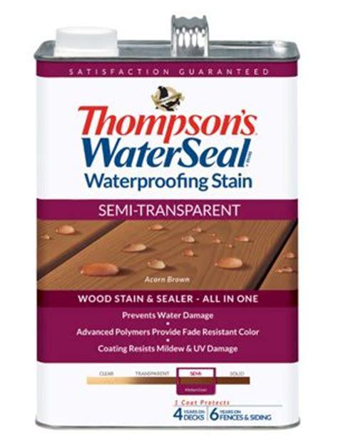 thompsons waterseal waterproofing stain acorn brown