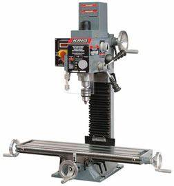 King Canada Milling Drilling Machine With Digital Readout