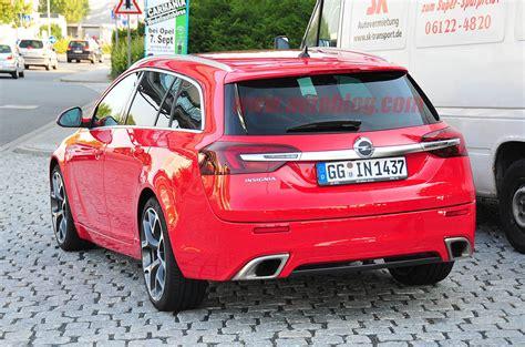2018 Opel Insignia Opc Sports Tourer Spy Shots Photo