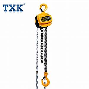 China 1 5t Factory Price Manual Chain Pulley Block With