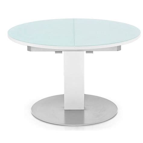 table de cuisine ronde en verre pied central table ronde cuisine design cuisine placards de noyer