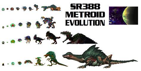Sr388 Metroid Evolution By Warahi On Deviantart