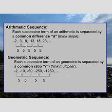 Summary Of Sequence And Series