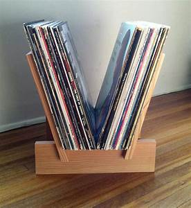 LP Record Rack—So Simple, So Sweet - Magnetic Magazine