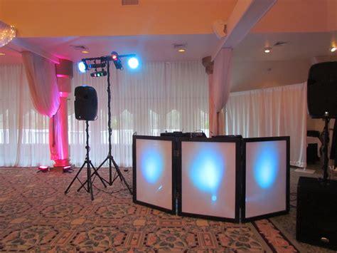 simple dj lighting setup lakeview pavilion wedding dj reception dj mashane disc