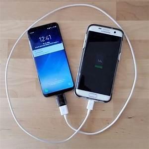 Galaxy S7 Kabellos Laden : samsung galaxy s8 als ladeger t f r andere ger te verwenden ~ Kayakingforconservation.com Haus und Dekorationen