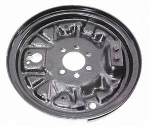 Lh Rear Drum Brake Backing Plate 93-99 Vw Jetta Golf Cabrio Mk3