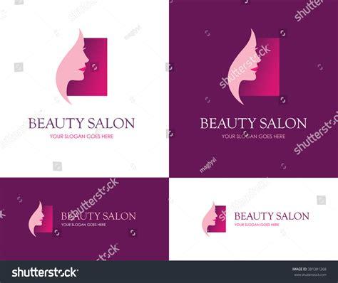 square logo salon skin stock vector 381381268 square logo salon face skin stock vector 381381268