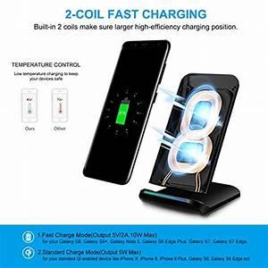 Samsung S9 Kabellos Laden : pulesen fast wireless charger 10w induktive ladestation ~ Jslefanu.com Haus und Dekorationen