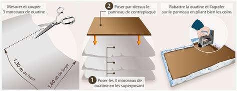 realiser une tete de lit capitonnee decoration