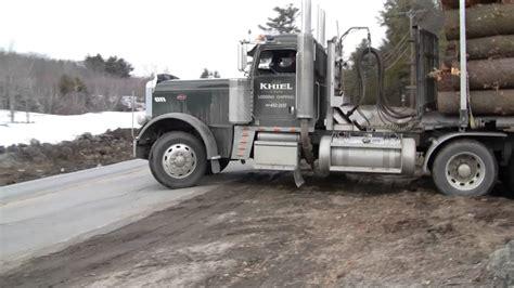 peterbilt truck pulling  youtube