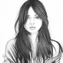 Girl Sketches Drawings
