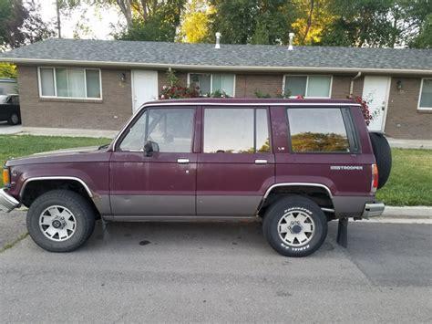 isuzu amigo purple 1990 isuzu trooper for sale used cars on buysellsearch