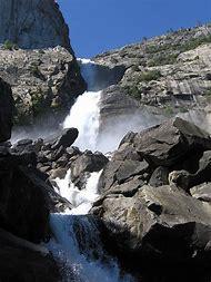 Wapama Falls Yosemite National Park