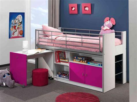 lit superposé combiné bureau lit superpose avec bureau pour fille visuel 4