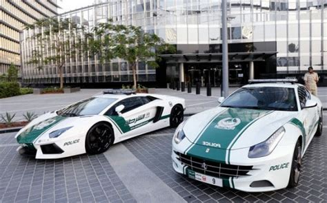 dubai   worlds fastest  expensive police car