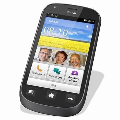 Doro Liberto Smartphone Noir Ldlc Seniors Non