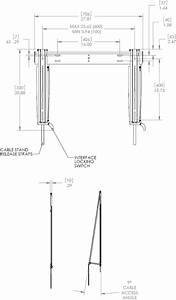 chief kitmstu522 medium thinstall flat panel fixed With tv mount wiring kit