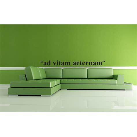 ad vitam aeternam cuisine stickers muraux citations sticker ad vitam aeternam ambiance sticker com