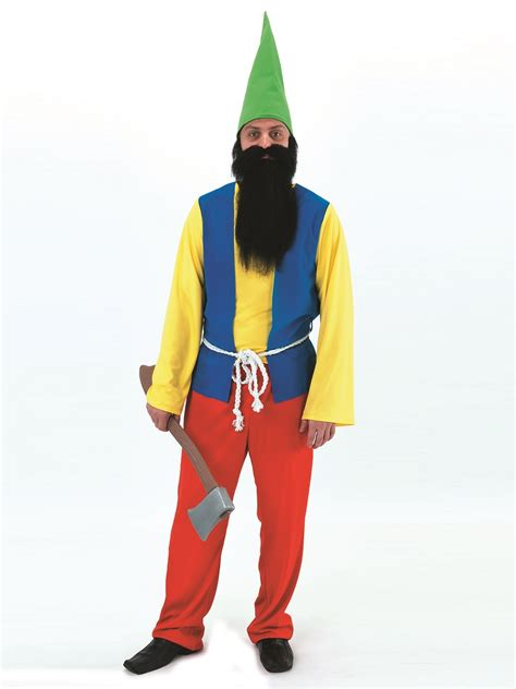 adult happy gnome costume  fancy dress ball