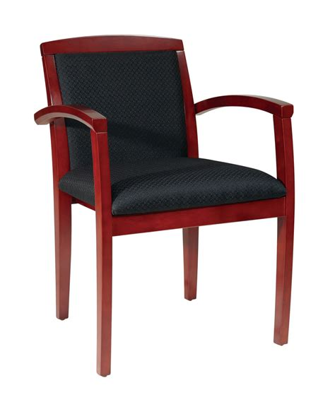leg chair with upholstered back and sonoma cherry finish