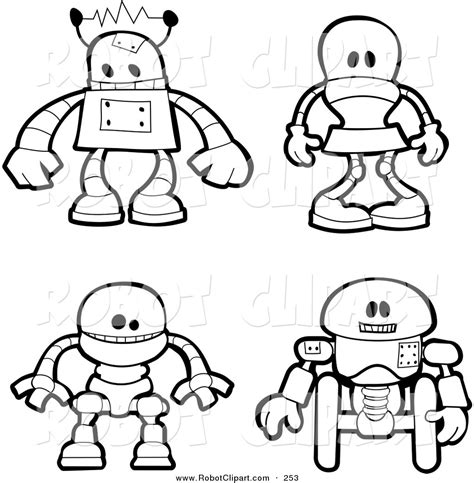 robot coloring pages    robot coloring