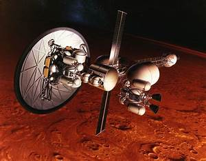 NASA working on nuclear rocket for manned Mars trips • The ...