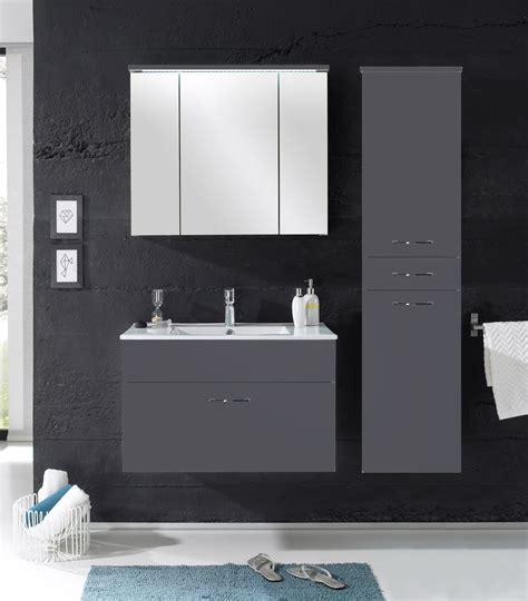 Moderne Badezimmermöbel Grau by Badm 246 Bel Quot Splash Quot 3 Tlg Badezimmer Set Badm 246 Bel