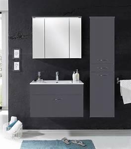 Badezimmermöbel Set Grau : badm bel splash 3 tlg badezimmer set badm bel badezimmerm bel grau ebay ~ Whattoseeinmadrid.com Haus und Dekorationen