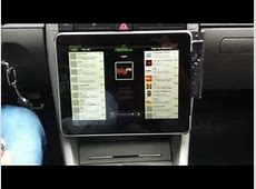 iPad Einbau in Audi A4 YouTube