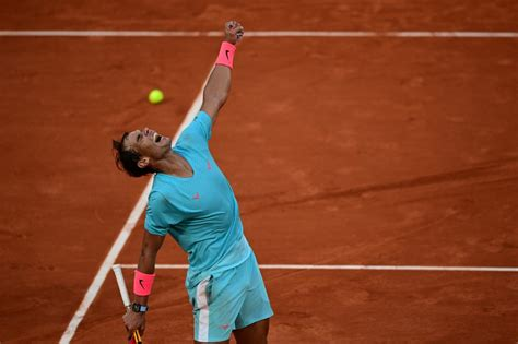 Nadal wins 13th French Open, record-equalling 20th Grand Slam