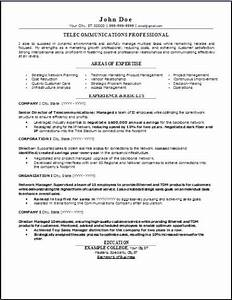 Job Format Telecommunications Resume Occupational Examples Samples