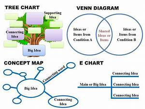 Four Examples Of Graphic Organizers As Visual Supports
