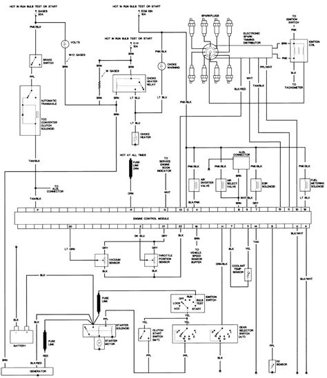 1984 Mustang Charging System Diagram by Pontiac Firebird Trans Am I Need All The Electrical Schemes