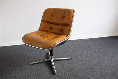 executive office chair by charles pollock for knoll for