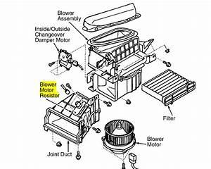 2004 Sebring Blower Motor Resistor Location - Wiring Diagrams Image Free