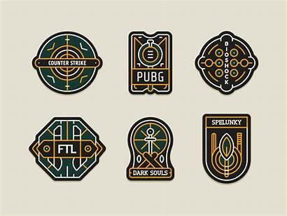 Badges Pubg Dribbble Games
