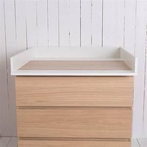Schreibtischstuhl Weiß Ikea : wickelaufsatz f r ikea malm brusali kommode in wei puckdaddy die kinderm bel manufaktur ~ Buech-reservation.com Haus und Dekorationen