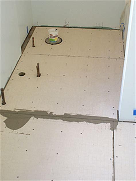 bathroom subflooring bathroom floors